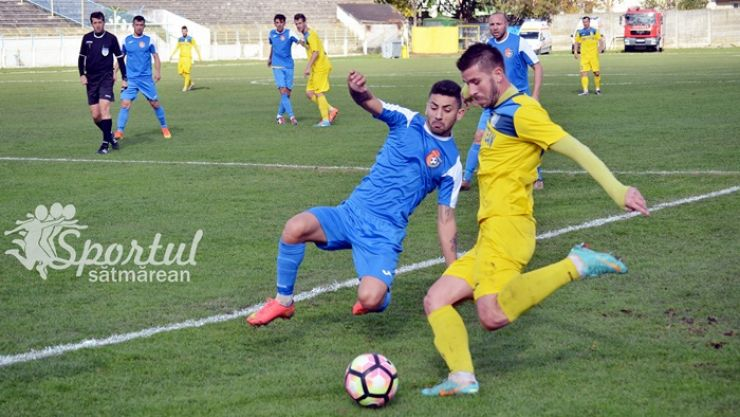 Liga 2 | Victorie muncită pentru FC Olimpia Satu Mare, pe teren propriu, cu CS Balotești