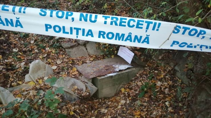 Criminaliștii au deschis o anchetă în Călinești-Oaș