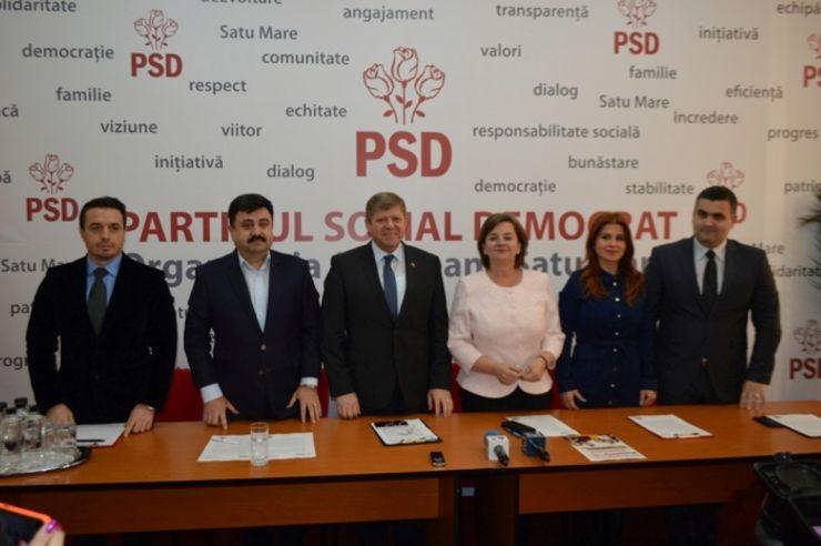 Candidații PSD, mesaj pentru sătmăreni: Cu muncă şi seriozitate vom dezvolta Satu Mare! Vă așteptăm duminică la vot!