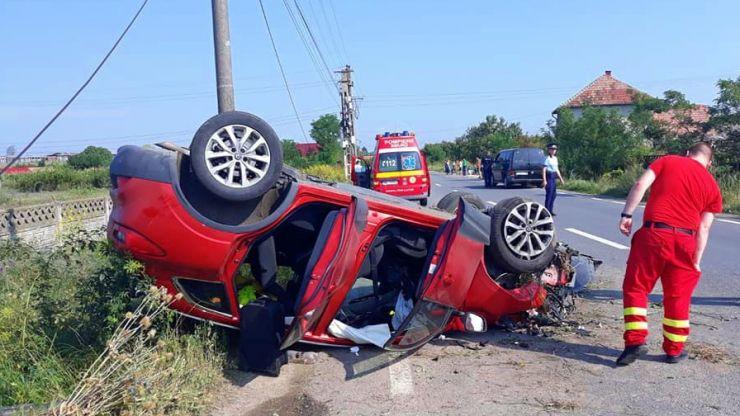Accident de circulație la Supur