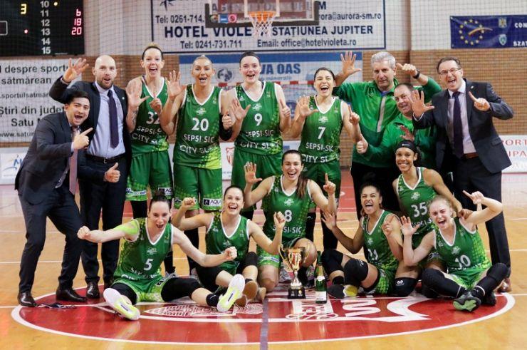 Baschet | Sepsi SIC Sfântu Gheorghe a câștigat Cupa României