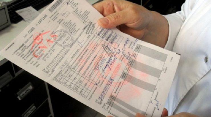 Biletele de trimitere noi au fost tipărite şi distribuite