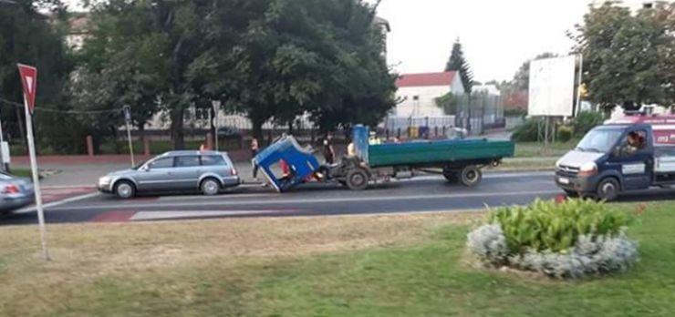 Accident în Piața Romană. Șoferul era beat