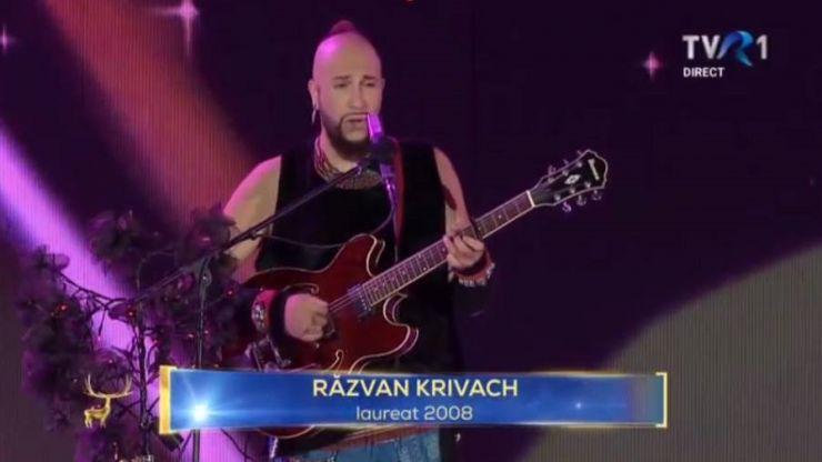 Câștigătorul Marelui Trofeu Cerbul de Aur 2008, sătmăreanul Răzvan Krivach, la Festivalul Cerbul de Aur 2018