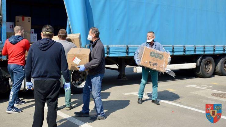 Au sosit echipamentele medicale din Germania pentru spitalele din județ
