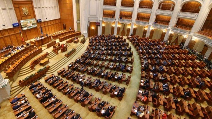 Guvernul Cîțu a fost demis. 281 de parlamentari au votat moțiunea de cenzură