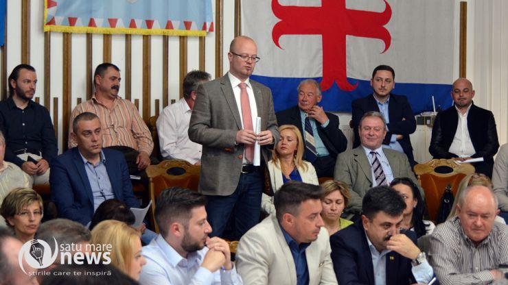 Ajutor financiar pentru oraşul înfrăţit Beregovo, Ucraina