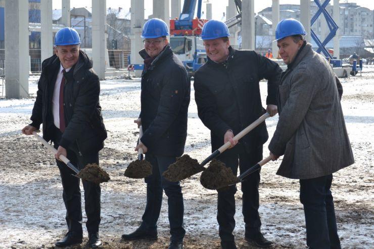 Investiție | Firma Rosendahl construiește o nouă hală de producție la Satu Mare (imagini)