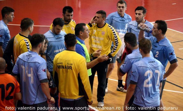 Handbal. Victorie pentru CSM Satu Mare, în deplasare la Timişoara