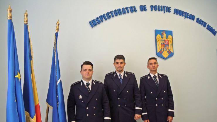 Forțe noi la IPJ Satu Mare