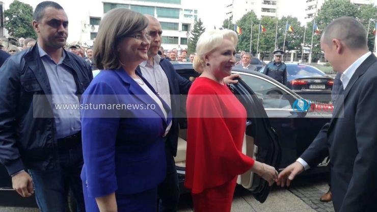Viorica Dăncilă a fost aleasă preşedinte al PSD