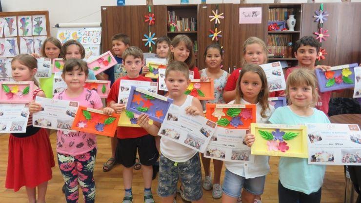 """Aproximativ 50 de copii au avut parte de experiențe frumoase în cadrul """"Taberei de Vară"""", oferită gratuit de Primăria Satu Mare"""