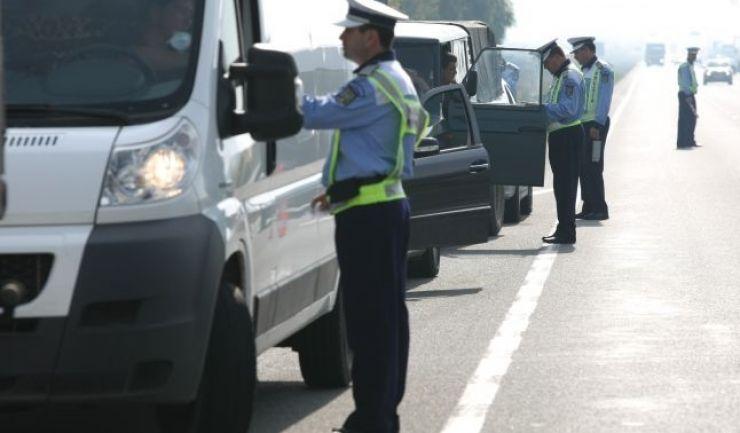 Filtre masive ale polițiștilor și RAR în Terebești