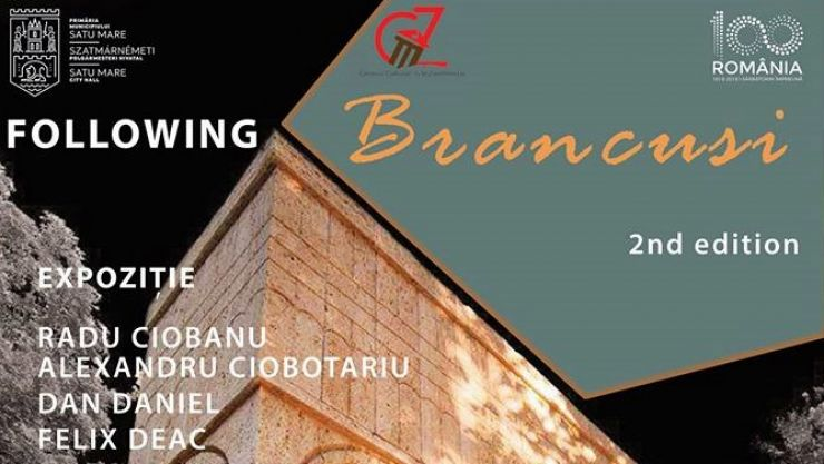 """Following Brancusi"", un eveniment la care vor fi prezenți sculptori din țară și străinătate"
