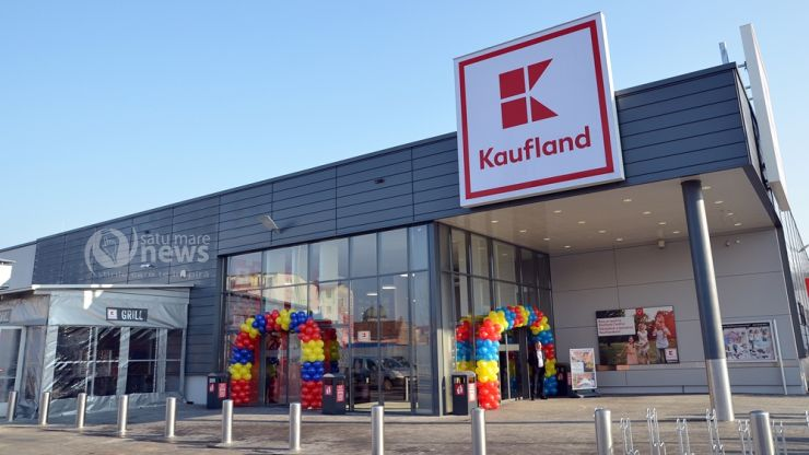 Cel de-al doilea magazin Kaufland din municipiul Satu Mare, inaugurat azi