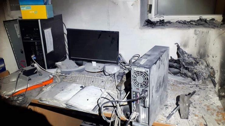 Incendiu în incinta unei fabrici din Satu Mare