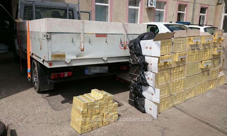 Captură record de țigări de contrabandă (foto)