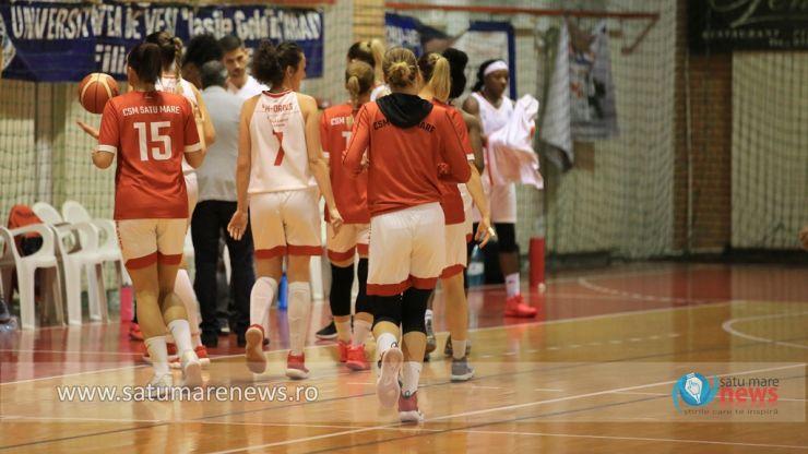Baschet   CSM Satu Mare conduce Grupa Roșie din Liga Națională