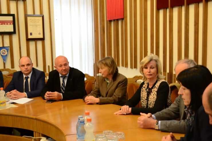 Delegație din Germania, în vizită la Primăria Satu Mare