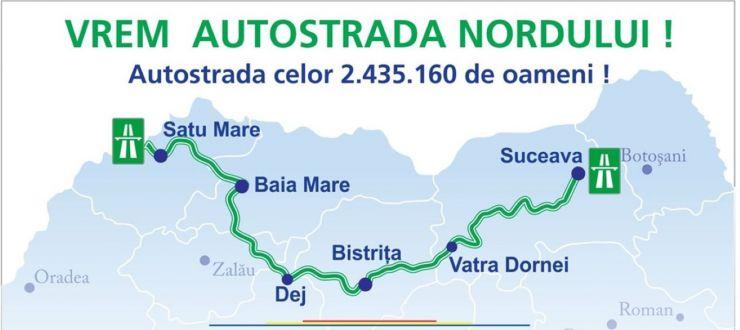 Proiectul Mișcării Civice Colective: Autostrada Nordului Satu Mare – Suceava