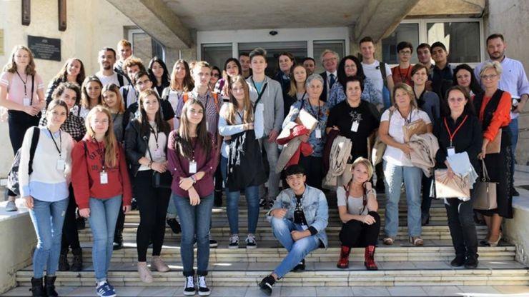 Elevi din Estonia, Italia și România, prezenți la Satu Mare