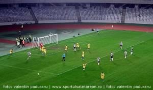 Fotbal. FC Olimpia Satu Mare a câștigat în deplasare la U Cluj