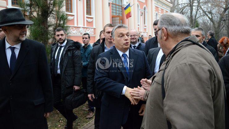 Viktor Orban: Ungaria este interesată într-o Românie de succes. Ungaria va ajuta construirea unei porţiuni de autostradă de la Satu Mare la graniţa Ungariei