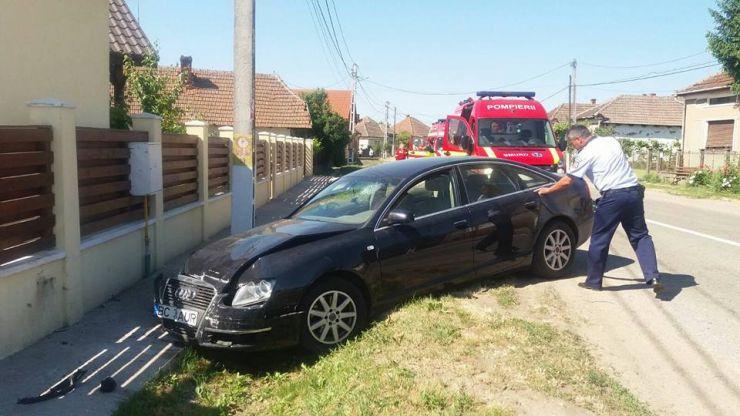Accident cu trei victime la Culciu Mare