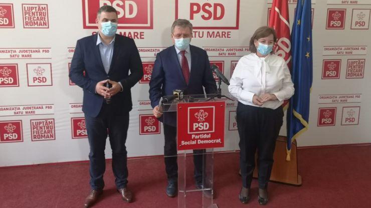 """Mircea Govor, președintele PSD Satu Mare: """"Primarii PSD din județ au primit cele mai mici sume din banii de rezervă ai Guvernului"""""""
