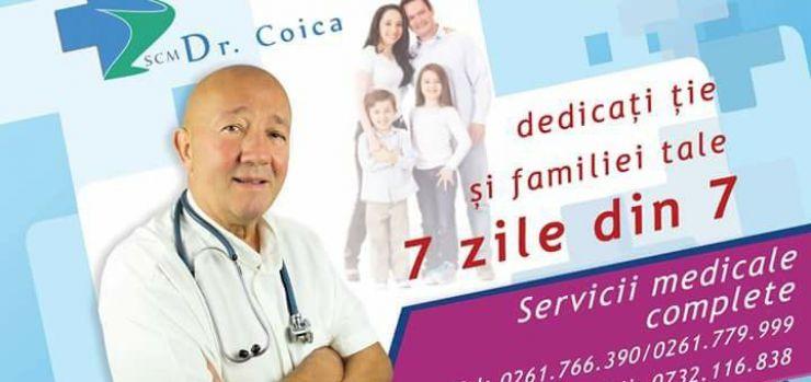 Consultații de specialitate la SCM dr. Coica