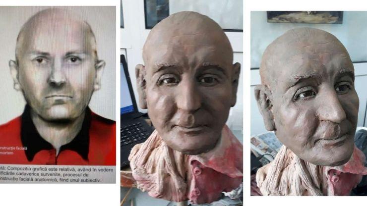 Îl cunoașteți? Poliția a făcut reconstrucția facială foto a unei persoane găsite decedată în Oradea