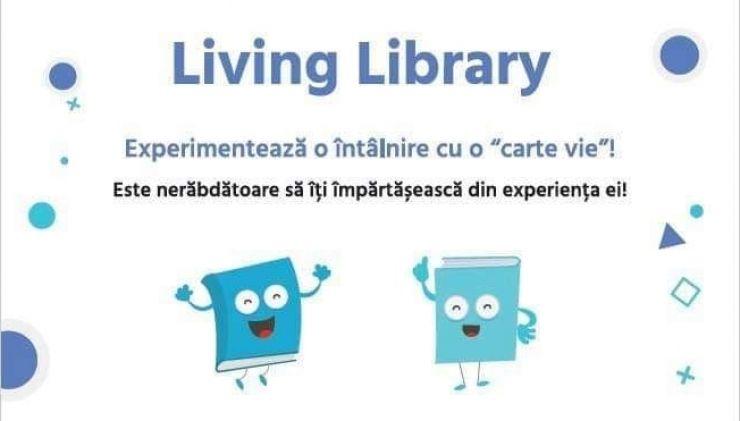 Experimentează o întâlnire cu o carte vie, la Biblioteca Județeană Satu Mare