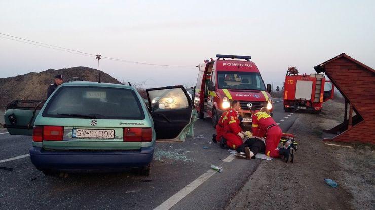 Accident între Iojib și Apa. O femeie a decedat pe loc