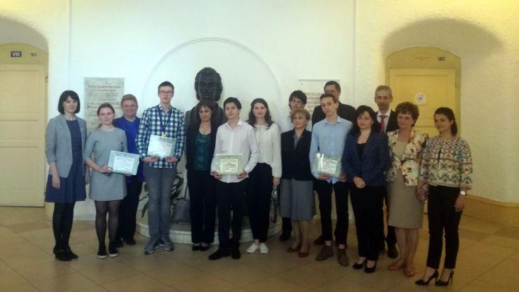 """CN """"Mihai Eminescu"""" se mândrește cu opt elevi de aur"""