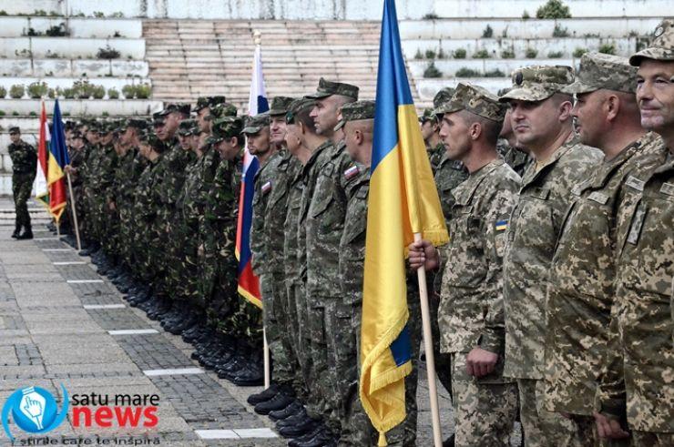 Blonde Avalanche-16: Desfășurare impresionantă de forțe armate la Satu Mare (foto)