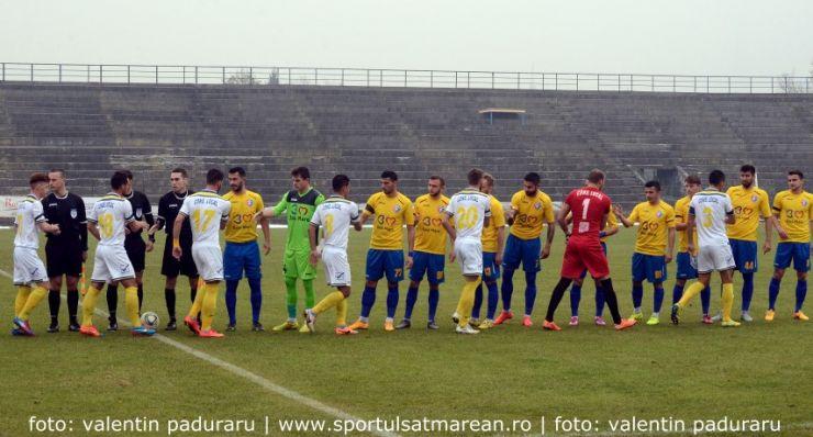 Fotbal. Liga 2. FCM Baia Mare 1 - 1 FC Olimpia Satu Mare