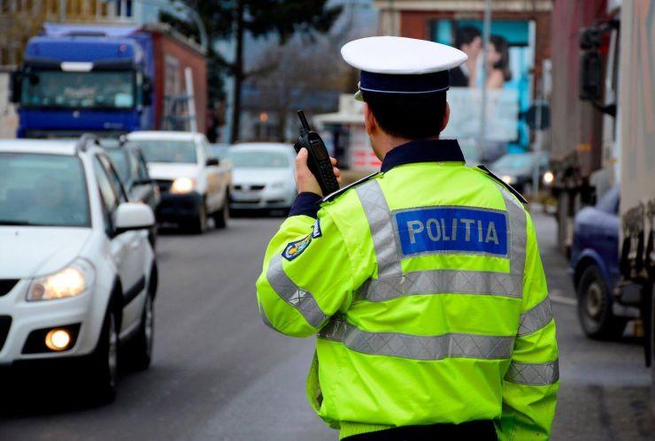 Polițiștii sătmăreni au aplicat peste 100 de amenzi într-o zi