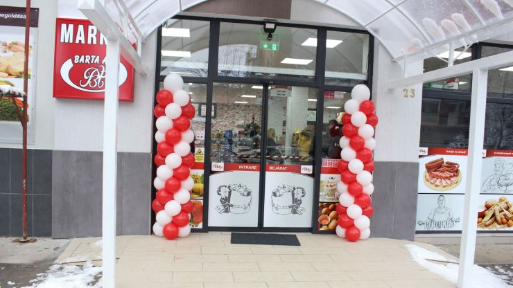 FOTO   Barta Ati a deschis un nou magazin CBA în Satu Mare