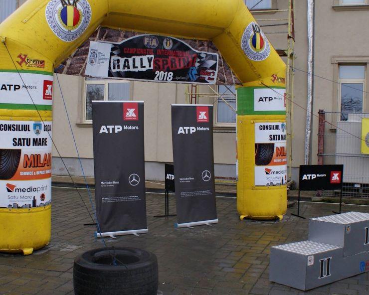 A doua etapă a Campionatului Internațional de Rally Sprint, mâine, la Satu Mare