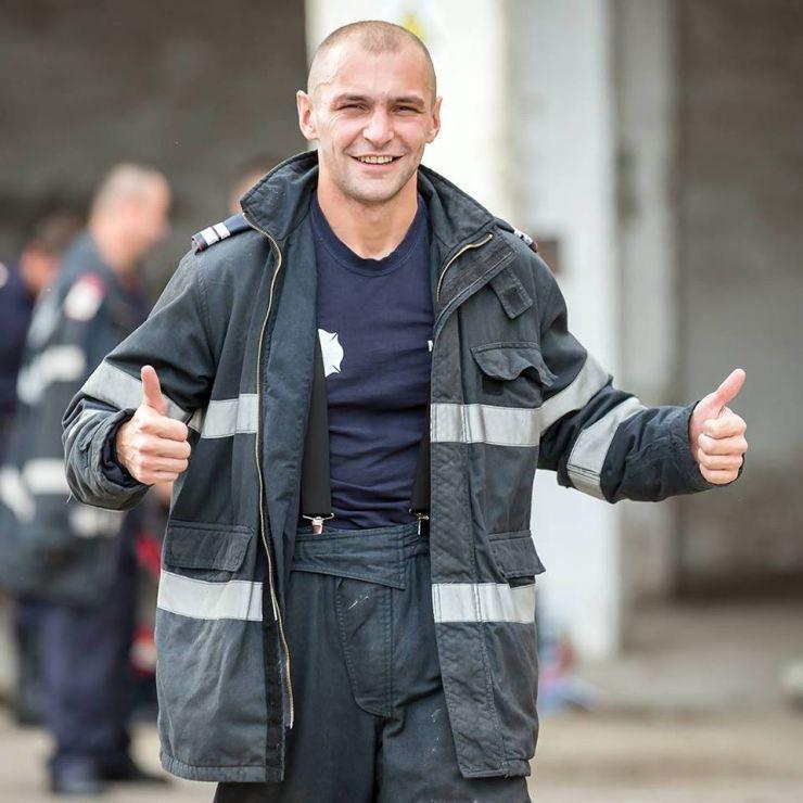 """Pompierul Olimpiu Moș, premiat și declarat """"Salvator de onoare al județului Satu Mare"""""""