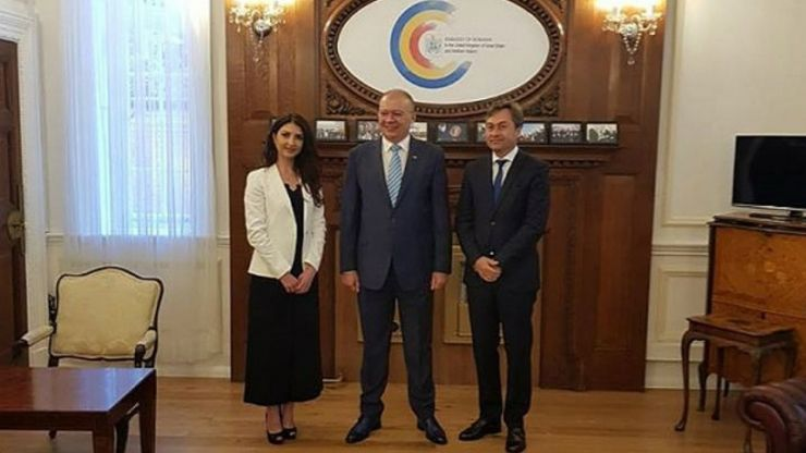 Valentin Macec, instalat oficial în funcția de consul al Ambasadei României de la Londra