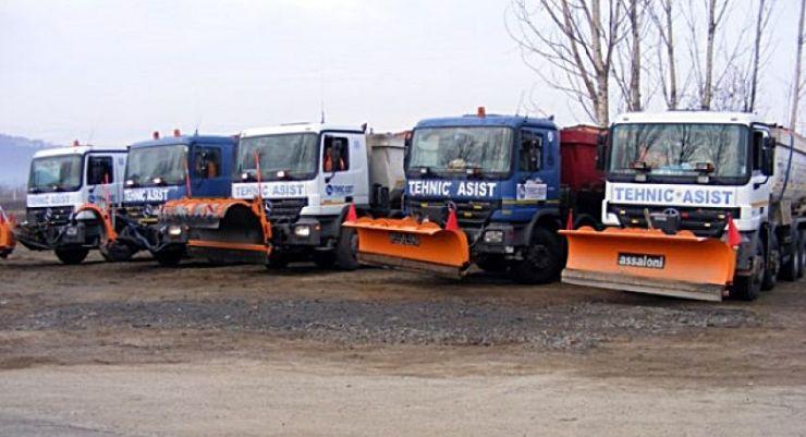 Tehnic Asist va deszăpezi drumurile din județul Satu Mare