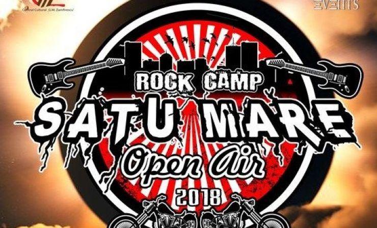 Prima ediție a festivalului Rock Camp Satu Mare: motoare și artiști consacrați