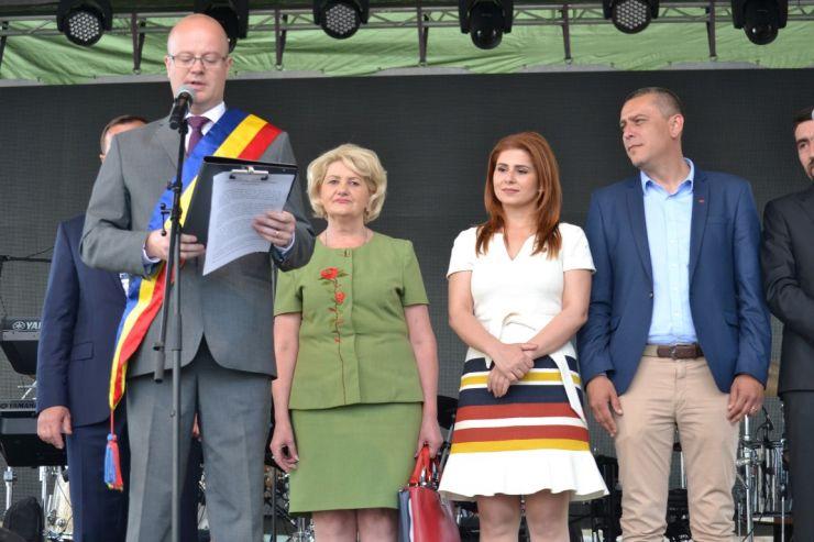 Primarul Kereskenyi Gabor a deschis cea de-a XXI-a ediție a Zilelor Orașului Satu Mare