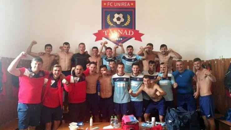 Liga 3 | Prima victorie a sezonului pentru Unirea Tășnad, 4-1 cu MSE Târgu Mureş
