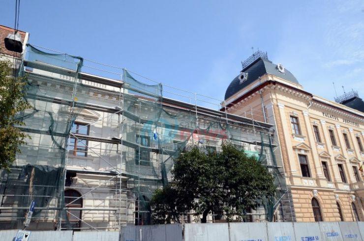Costurile lucrărilor la Palatul de Justiție din Satu Mare și termenul de finalizare