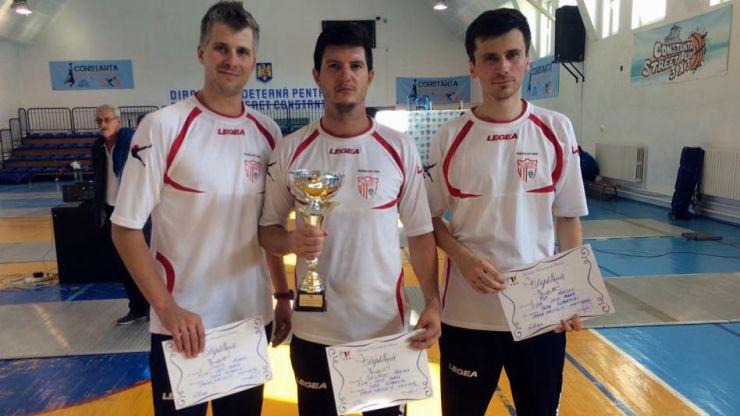 Spadă | Aur și bronz pentru sportivii de la CSM Satu Mare la Cupa României