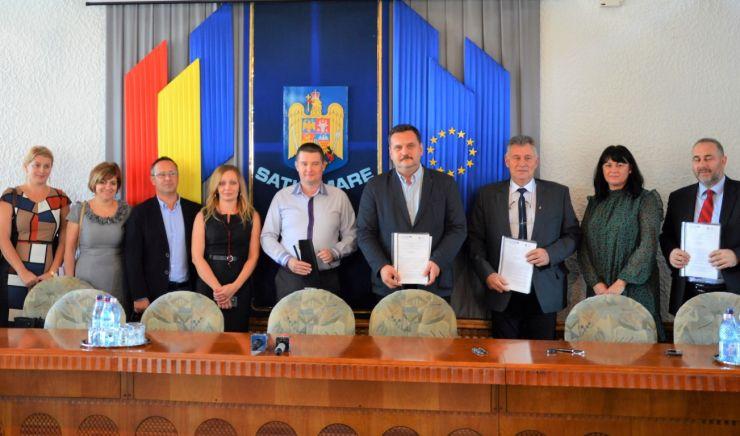 Azi s-a semnat acordul de parteneriat pentru extinderea clădirii Spitalului Județean de Urgență Satu Mare. Valoarea proiectului, 13.900.000 euro