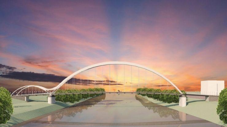 A fost semnat contractul de proiectare și execuție a pasarelei pietonale peste râul Someș