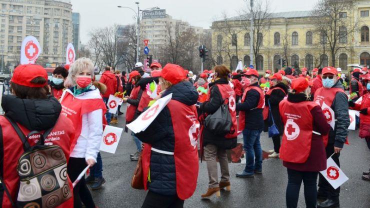 Proteste ample anunțate de angajații din Sănătate